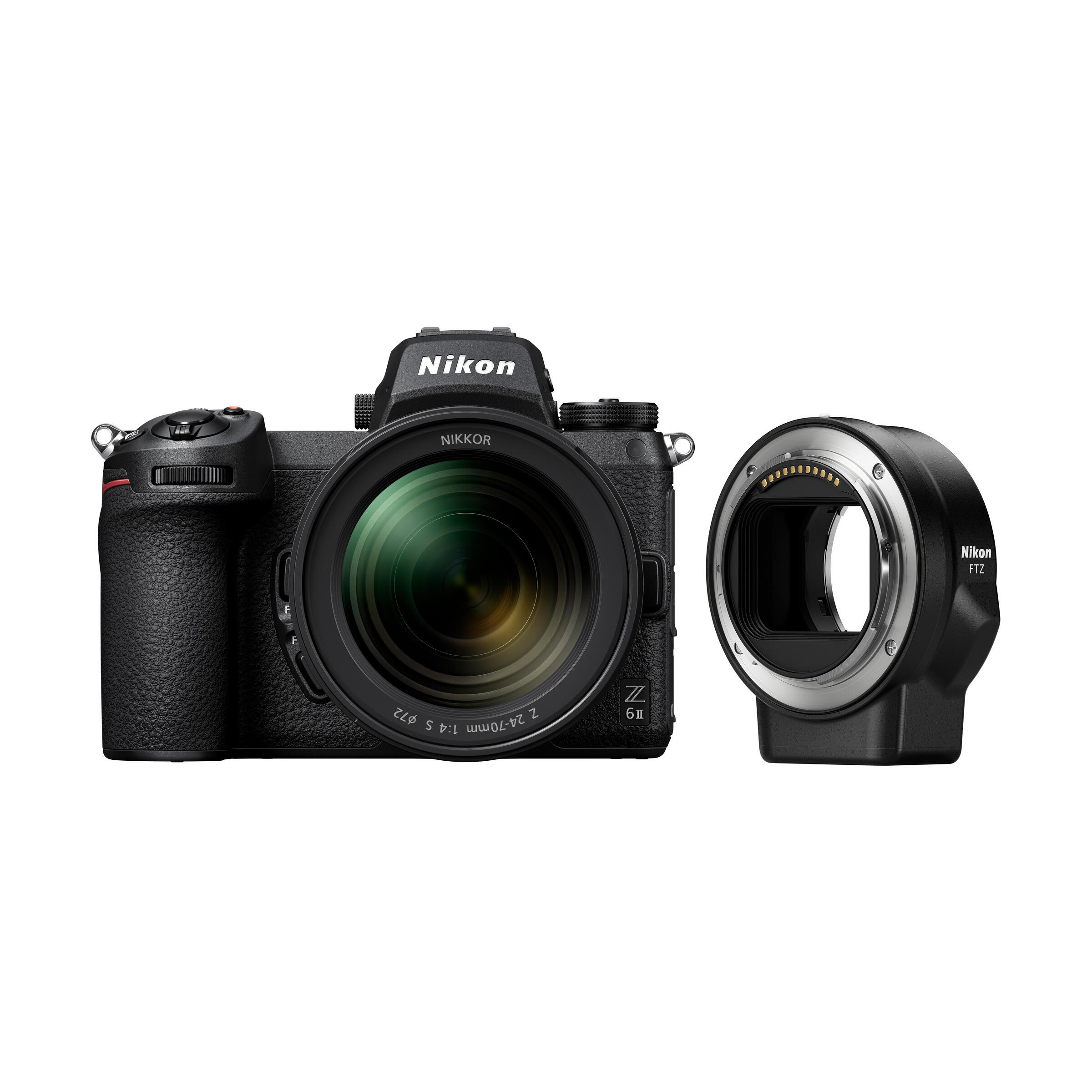 Nikon Z 6II + Z 24-70mm f/4,0 S + FTZ Bajonett Adapter