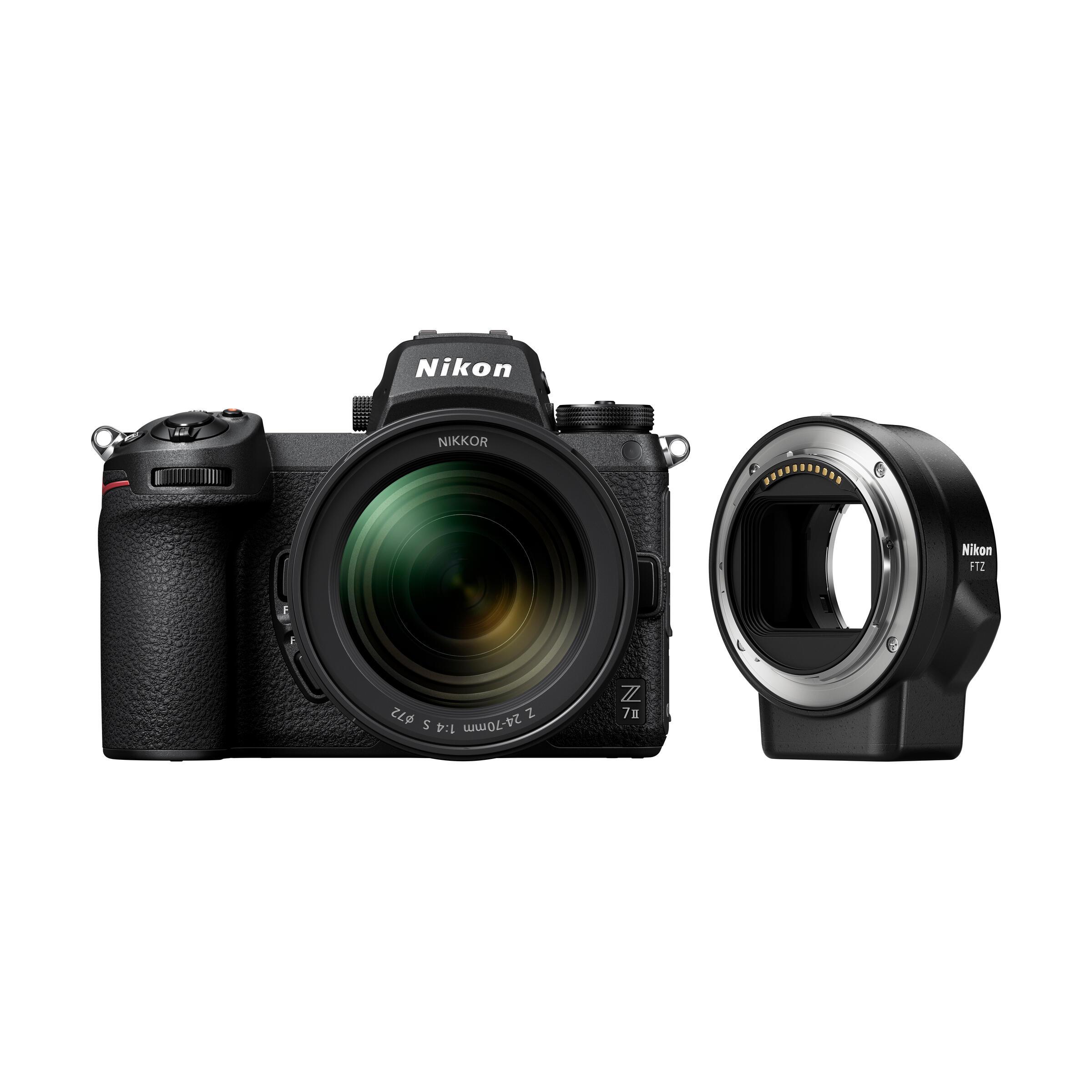 Nikon Z 7II + Z 24-70mm f/4,0 S + FTZ Bajonett Adapter
