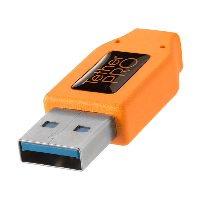 Tether Tools TetherPro USB 3.0 Kabel - USB auf USB-C : Orange