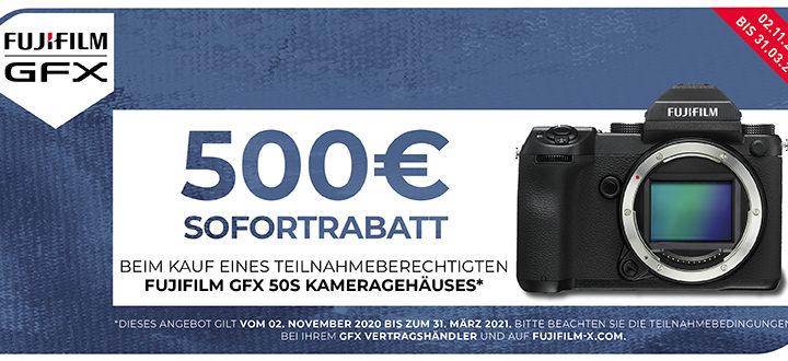 Fujifilm GFX 50S Sofortrabatt
