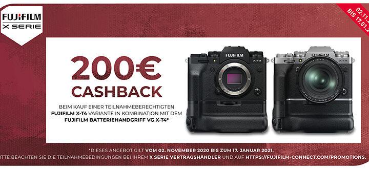 Fujifilm X-T4 Batteriegriff Promotion