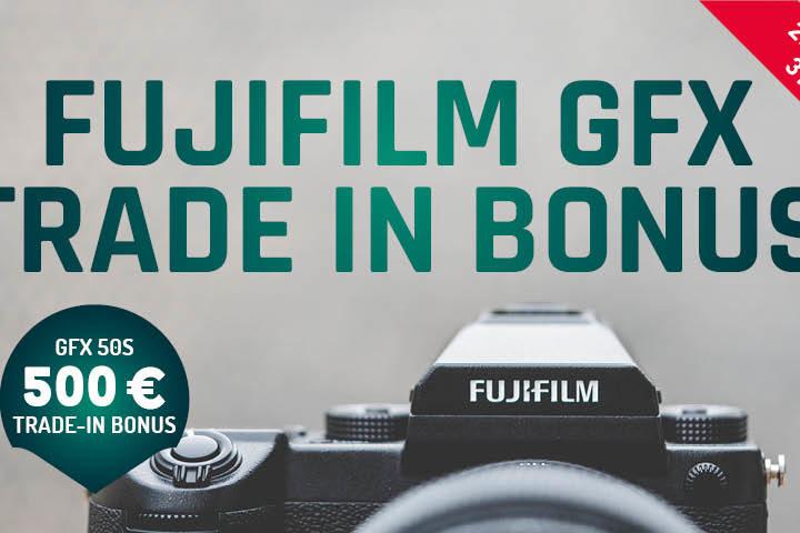 Fujifilm GFX 50S Eintauschaktion 2020