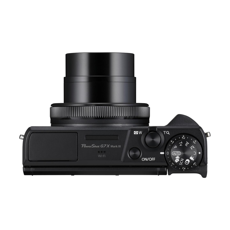 Canon PowerShot G7 X Mark III : schwarz