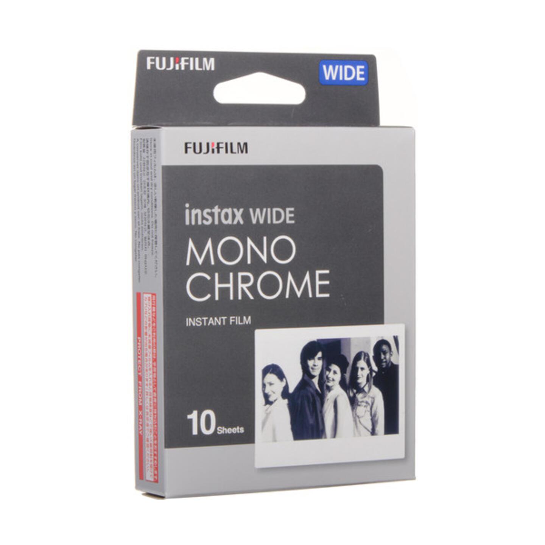 FUJIFILM instax WIDE Sofortbildfilm - Monochrome - 10 Aufnahmen