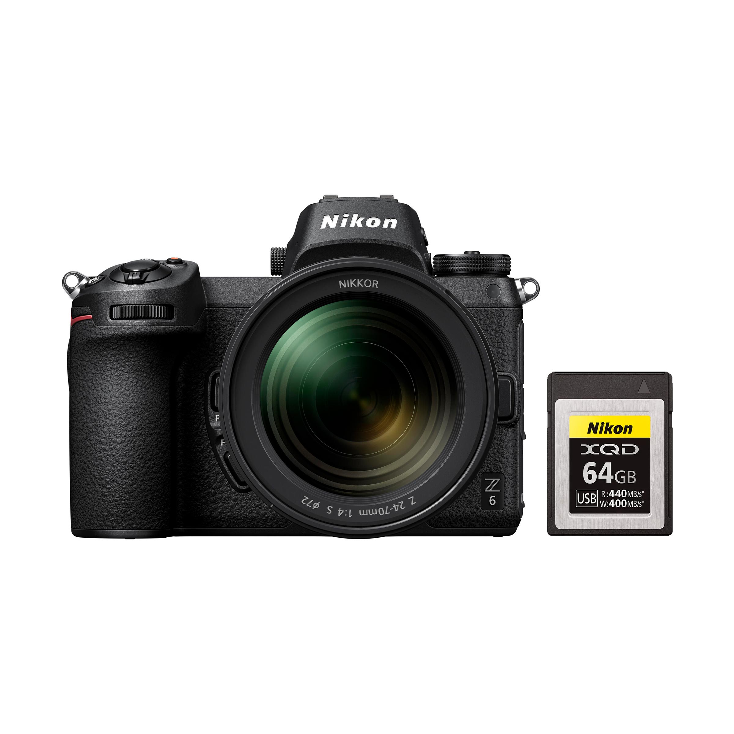 Nikon Z 6 + Z 24-70mm S + XQD 64GB