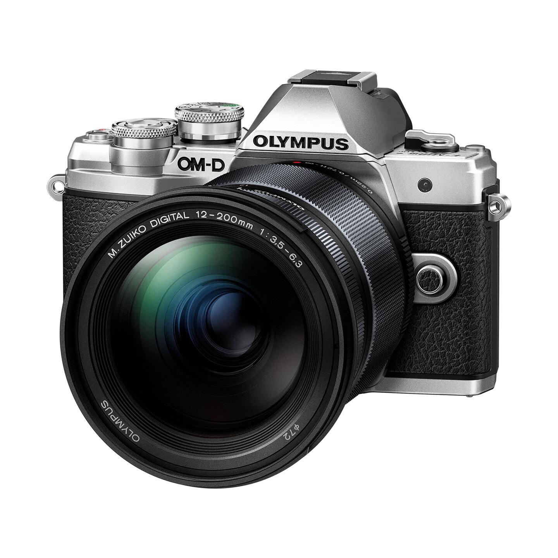 Olympus OM-D E-M10 Mark III + ED 12-200mm : Silber