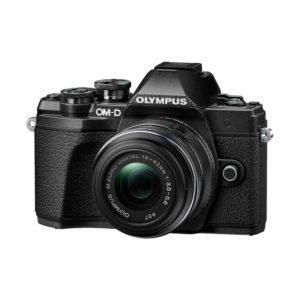 Olympus OM-D E-M10 Mark III + 14-42mm II R : Schwarz