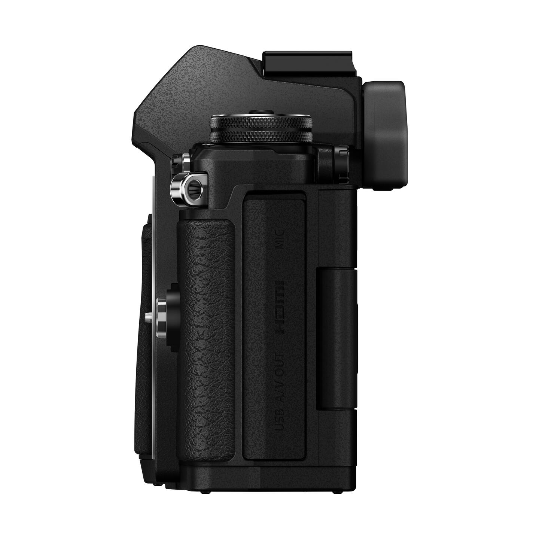 Olympus OM-D E-M5 Mark II + ED 14-150mm II : Schwarz
