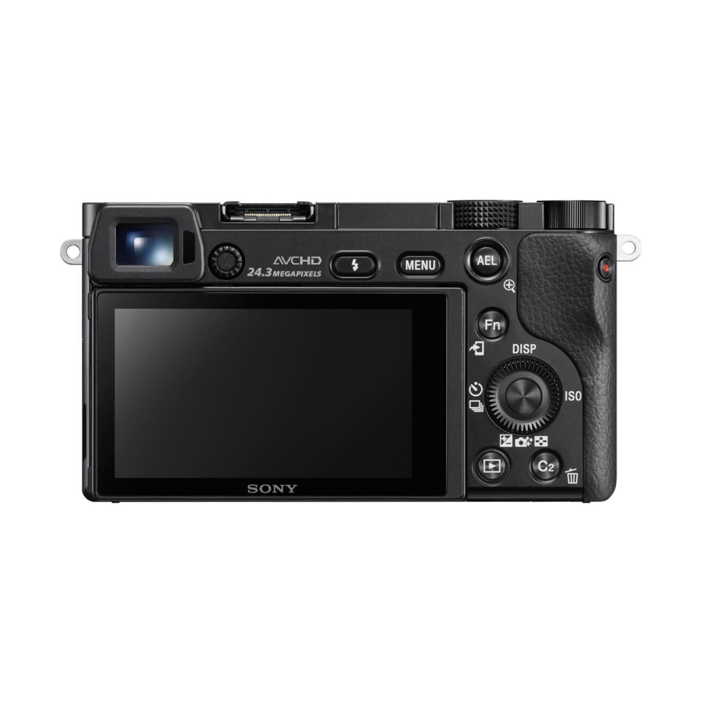 Sony Alpha 6000 + E PZ 16-50mm : Schwarz