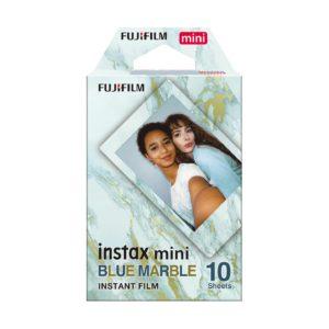 FUJIFILM instax mini Sofortbildfilm : BLUE MARBLE - 10 Aufnahmen