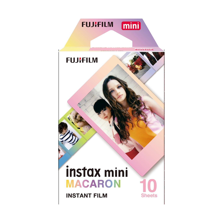 FUJIFILM instax mini Sofortbildfilm : MACARON - 10 Aufnahmen