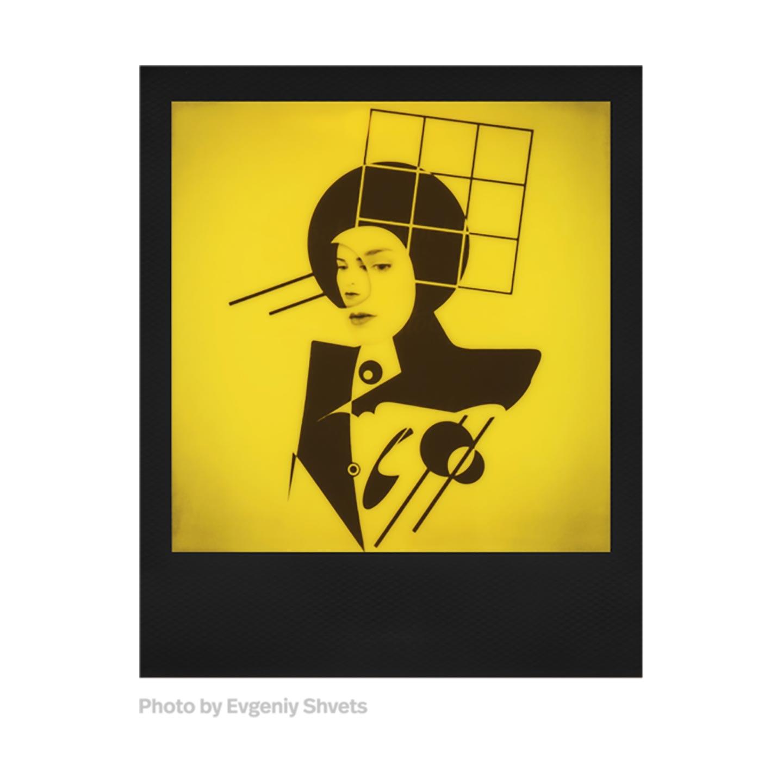 Polaroid 600 B&W Sofortbildfilm : Black & Yellow Duochrome - 8 Aufnahmen