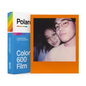 Polaroid 600 Color Sofortbildfilm - Farbrahmen - 8 Aufnahmen