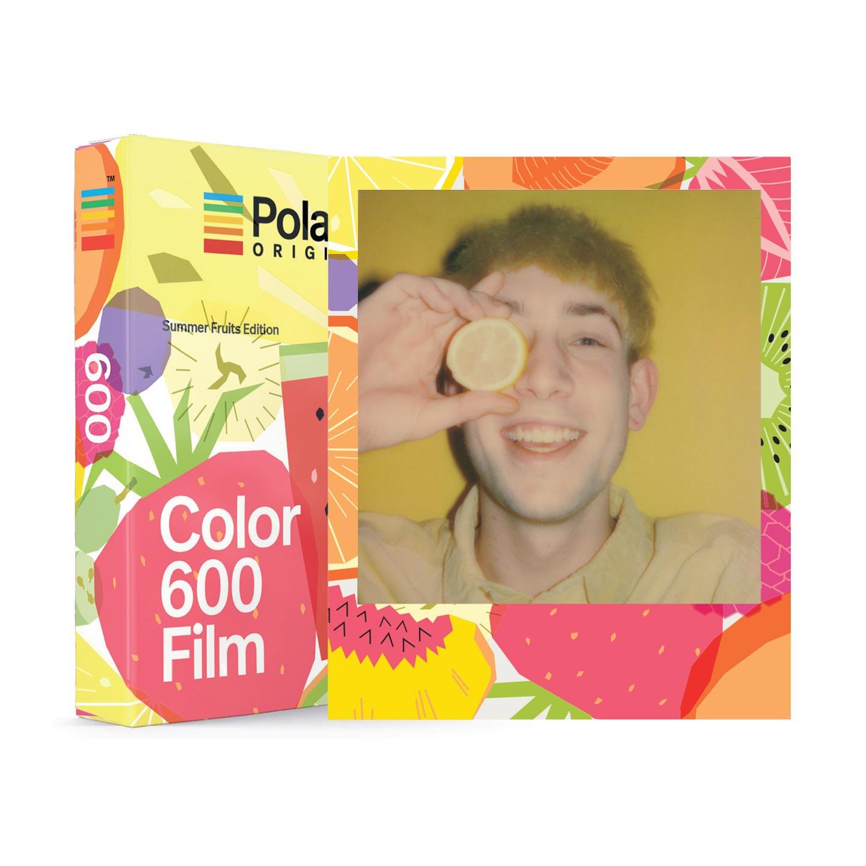 Polaroid 600 Color Sofortbildfilm : Summer Fruits - 8 Aufnahmen