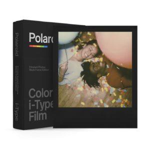 Polaroid i-Type Color Sofortbildfilm : Black Frame - 8 Aufnahmen