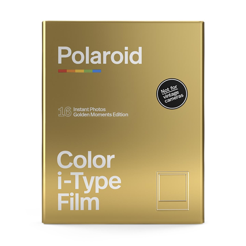 Polaroid i-Type Color Sofortbildfilm : Golden Moments - 16 Aufnahmen