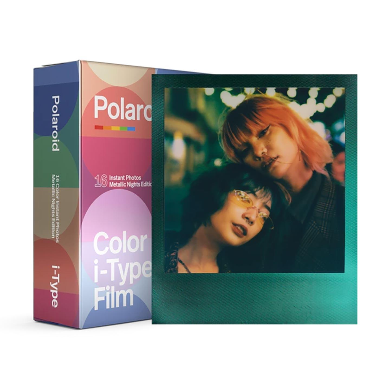 Polaroid i-Type Color Sofortbildfilm : Metallic Nights - 16 Aufnahmen