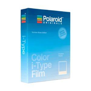 Polaroid i-Type Color Sofortbildfilm : Summer Blues - 8 Aufnahmen