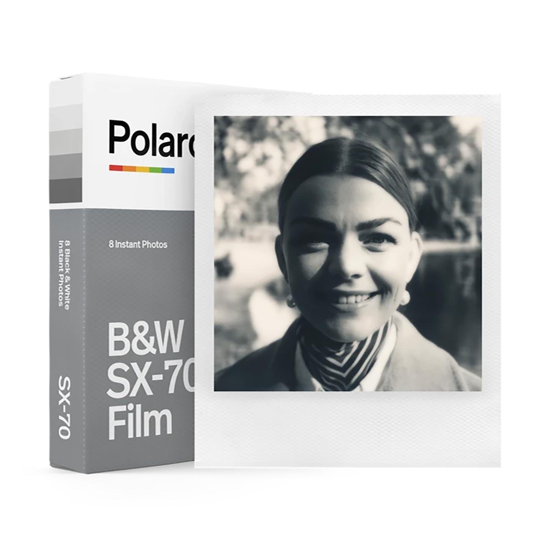 Polaroid SX-70 B&W Sofortbildfilm - 8 Aufnahmen