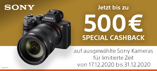 Sony Special XMAS-Cashback