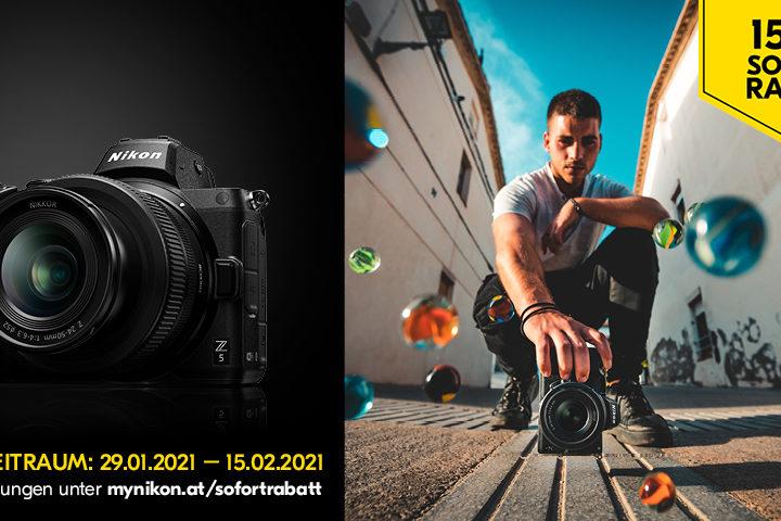 Nikon Z 5 Sofortrabatt