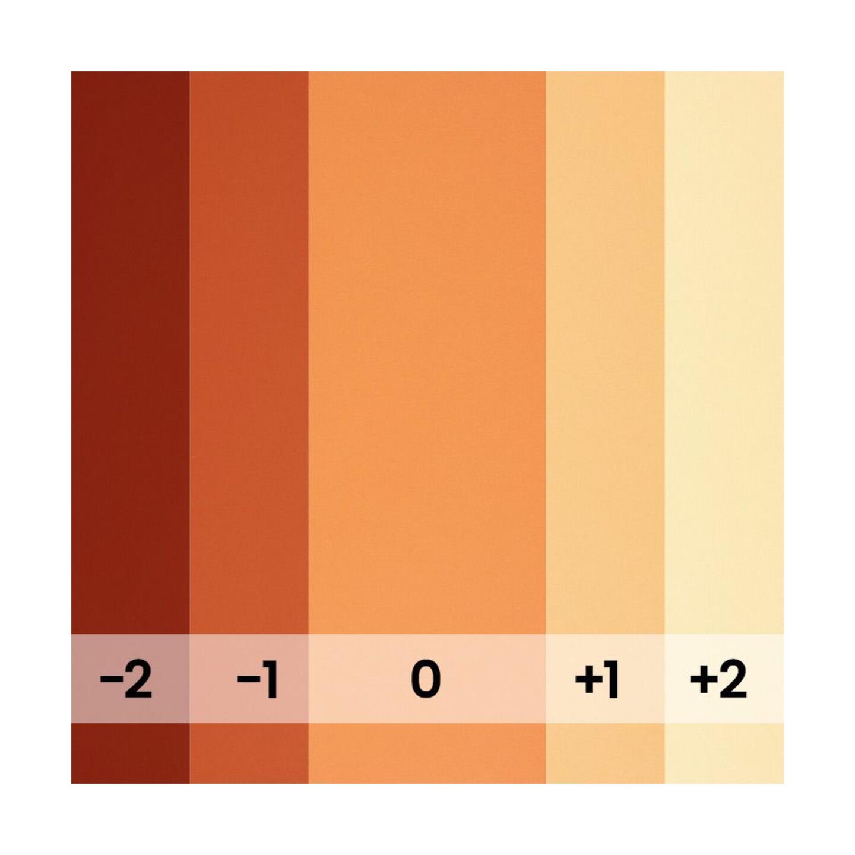 BD Backgrounds Tangerine : 1,35 m