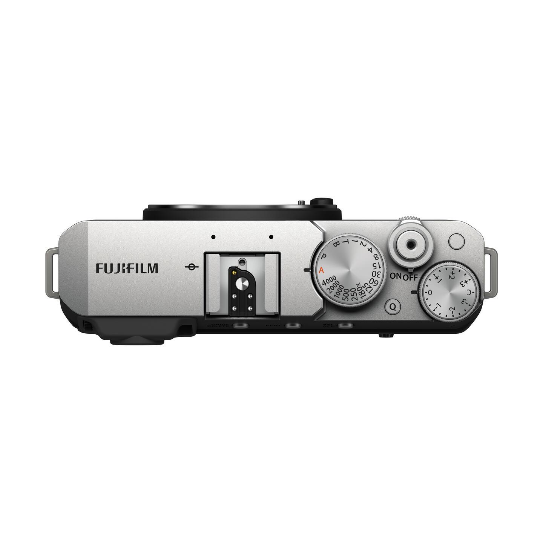 FUJIFILM X-E4 : Silber