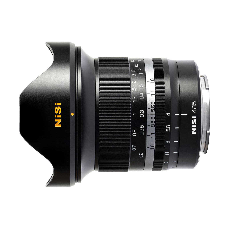 NiSi 15mm f/4,0 ASPH für Canon RF