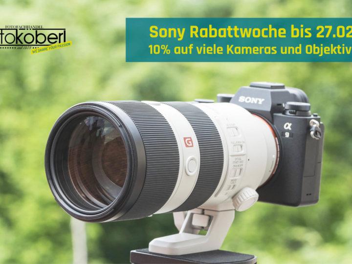 Sony Frühjahrs-Rabattwoche