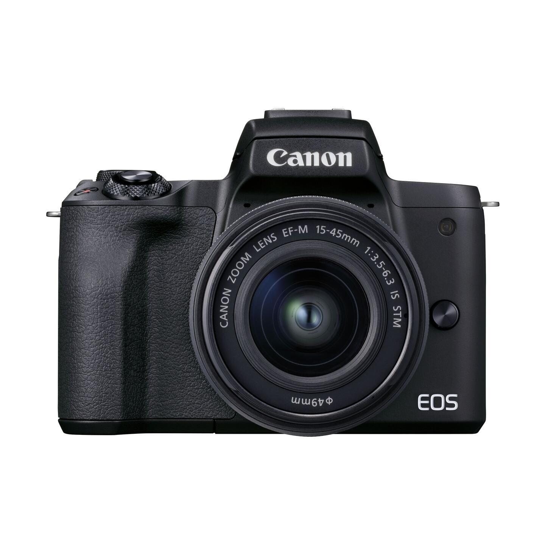 Canon EOS M50 Mark II + EF-M 15-45mm IS STM : Schwarz