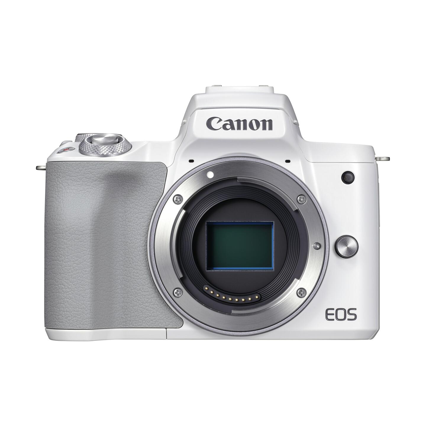 Canon EOS M50 Mark II + EF-M 15-45mm IS STM : Weiß