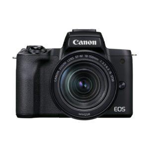 Canon EOS M50 Mark II + EF-M 18-150mm IS STM : Schwarz
