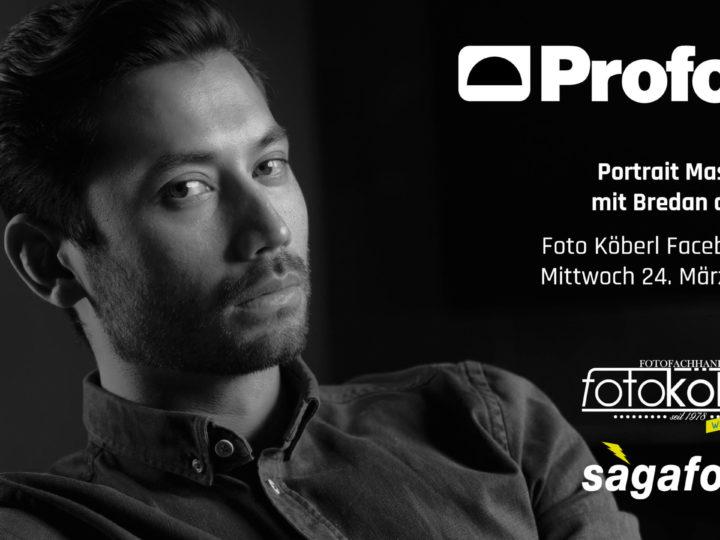 FB-LIVE: Profoto Masterclass mit Brendan de Clercq