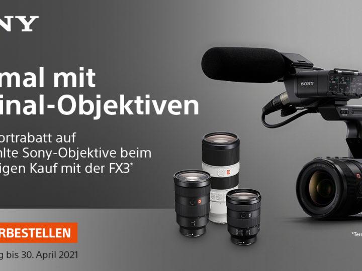 Sony Cinema Line FX3 Einführungsangebot