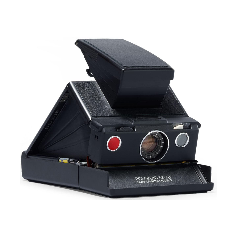 Polaroid SX-70 Refurbished : Schwarz-Schwarz