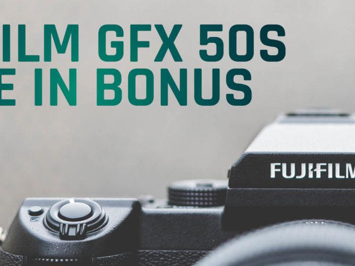 Fujifilm GFX50S Trade-In-Bonus 2021