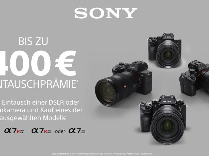 Sony Alpha-Eintauschprämie