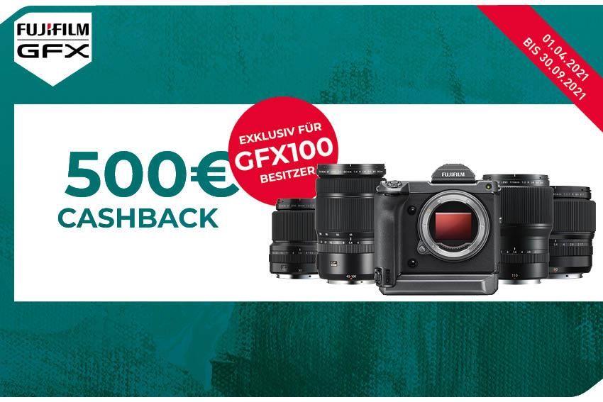 FUJIFILM Objektiv-Cashback zur GFX100