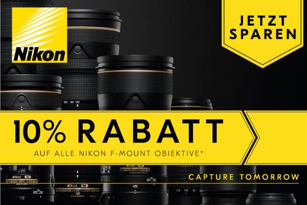 Nikon F-Bajonett-Wochen 2021