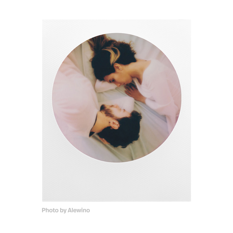 Polaroid 600 Color Sofortbildfilm : Round Frame - 8 Aufnahmen