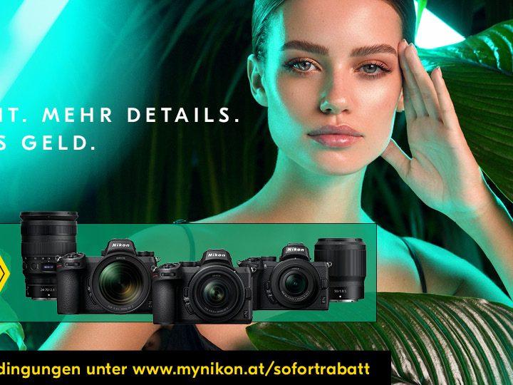 Nikon Sommer-Sofortrabatt 2021