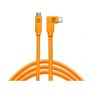 Tether Tools TetherPro USB-C Kabel - USB-C auf USB-C rechtwinklig : Orange