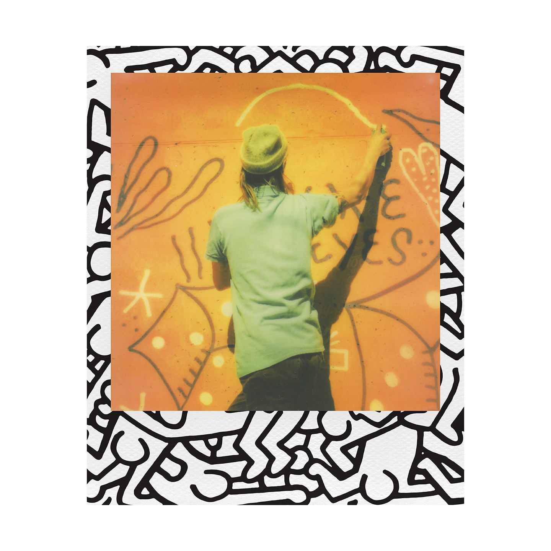 Polaroid i-Type Color Sofortbildfilm : Keith Haring Edition - 8 Aufnahmen
