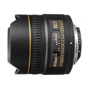Nikon AF DX Fisheye-Nikkor 10,5mm f/2,8 G ED