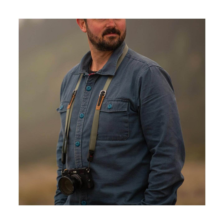 Peak Design Leash Kameragurt 19mm : Sage (Salbeigrün)