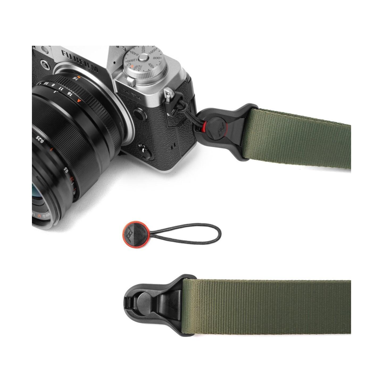 Peak Design Slide Lite Kameragurt 32mm : Sage (Salbeigrün)