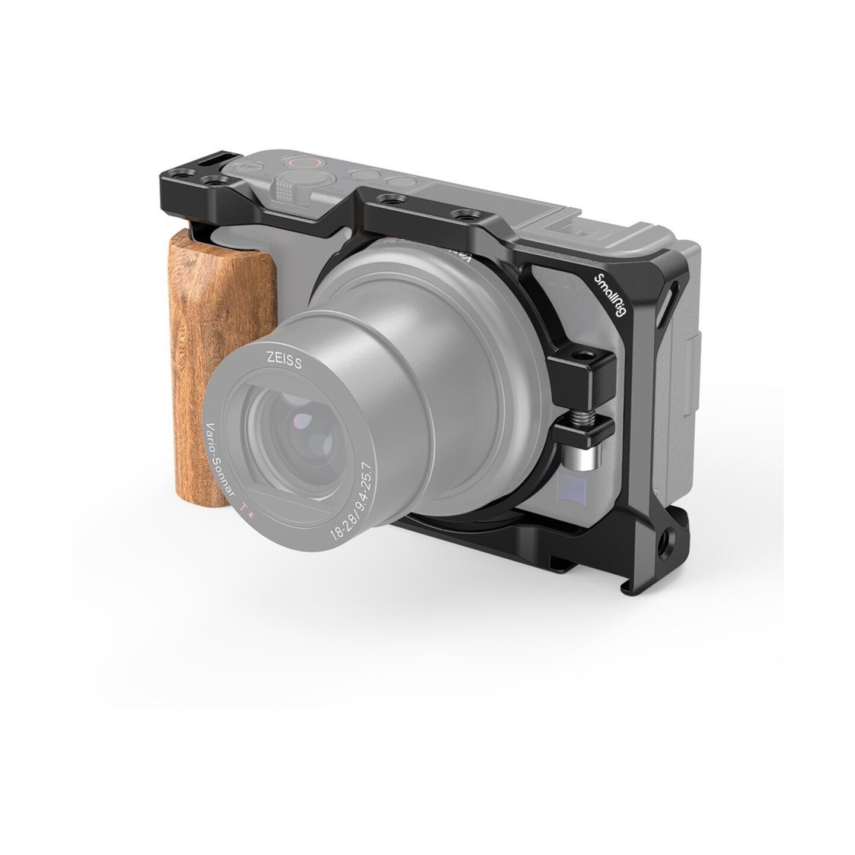 SmallRig 2937 Cage für Sony ZV-1 mit Holzgriff