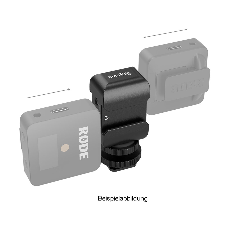 SmallRig 2996 2-in-1 Halterung für Rode Wireless Go
