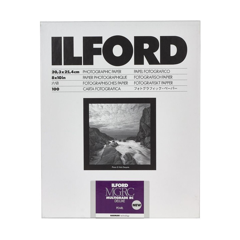 Ilford MULTIGRADE RC DELUXE (44M) pearl : 8,9 x 12,7 cm - 100 Blatt