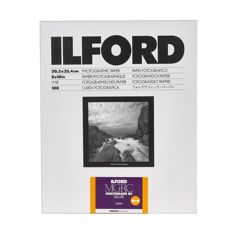 Ilford MULTIGRADE RC DELUXE (25M) satin : 8,9 x 12,7 cm - 100 Blatt